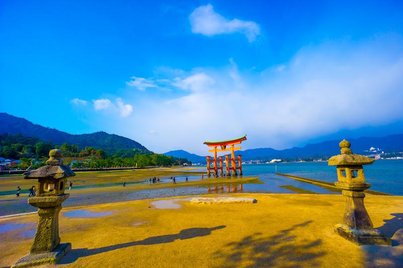 宮島 厳島神社 干潮3