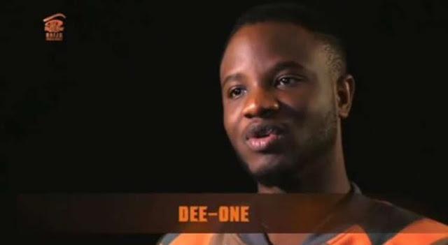 BBNaija: 'Why I Will Kill Nina, Marry Cee-C'- Dee-One