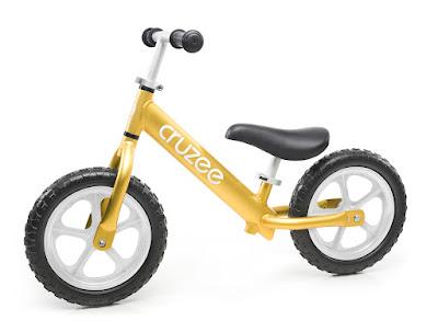 Xe tập cân bằng Cruzee màu vàng