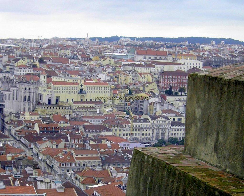 Лиссабон Крепость Святого Георгия