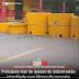 Principais vias de acesso de Sobral estão interditada com blocos de concreto