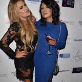 OIC - ENTSIMAGES.COM - Lady Nadia Essex and Jenny Sheikh at the  Celebrity Singles Dinner in London 22nd October 2015 Photo Mobis Photos/OIC 0203 174 1069