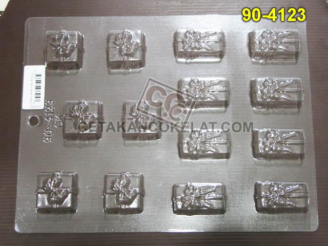 Cetakan Coklat cokelat kado 90-4123