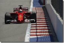 Sebastian Vettel conquista la pole del gran premio di Russia 2017