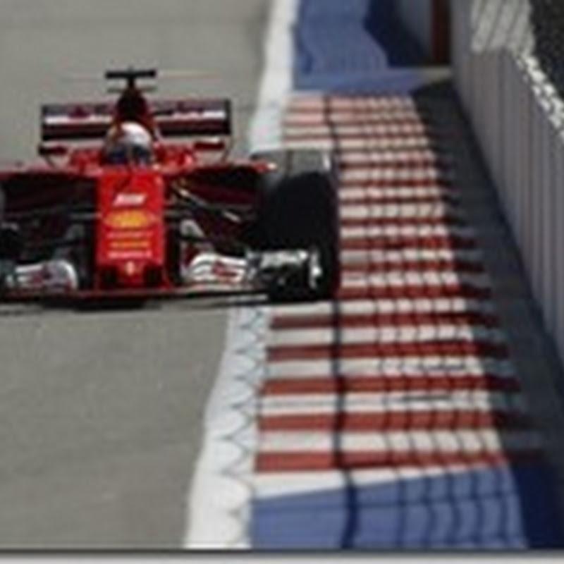 GP di Russia: Vettel in pole davanti a Raikkonen