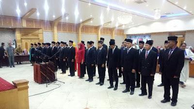 39 Anggota PPK Dilantik, Ini Pesan Bupati Safrial