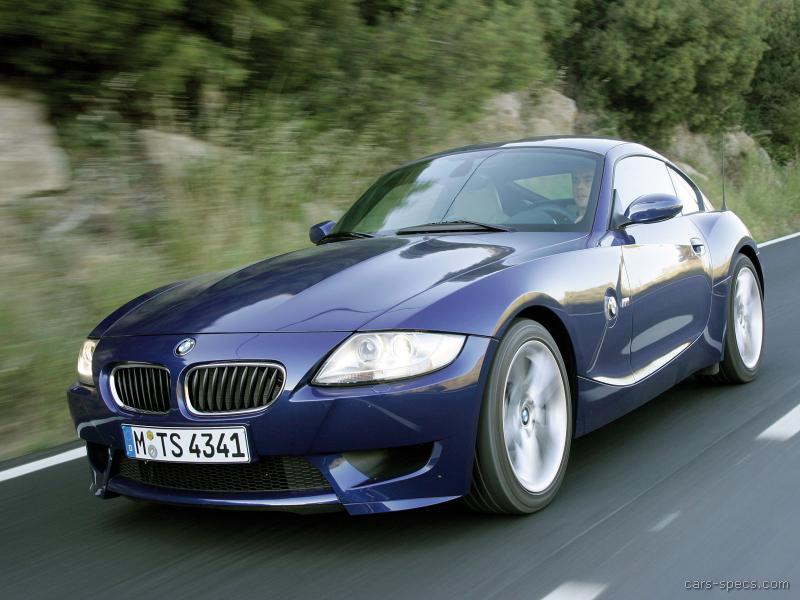 2007 bmw z4 m coupe specifications pictures prices. Black Bedroom Furniture Sets. Home Design Ideas