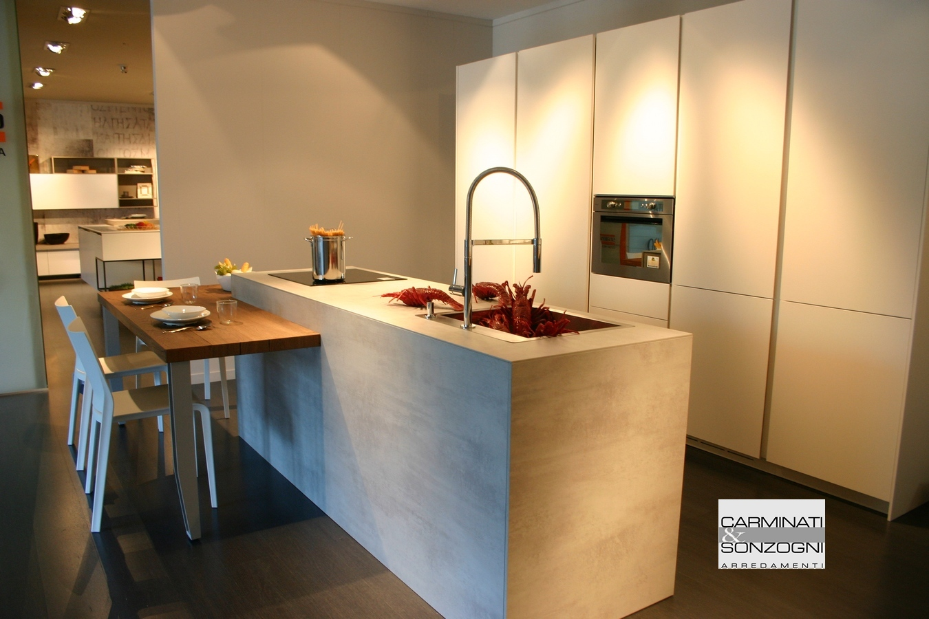 Best Cucina Con Piano Snack Gallery - Ideas & Design 2017 ...