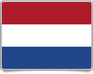 Dutch framed flag icons with box shadow