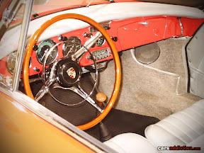 Porsche 356 B Carrera 2 Cabriolet interior