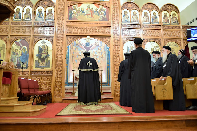 His Holiness Pope Tawadros II visit to St. Mark LA - DSC_0179.JPG