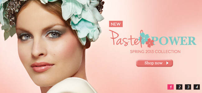 Lise Watier Pastel Power Collection For Spring 2013