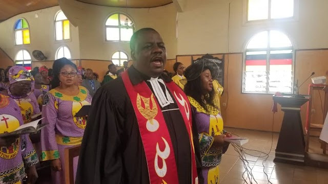 Rev.Nta William instituted, inducted as PCC National Peace Coordinator