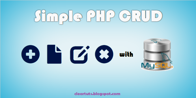 Simple PHP CRUD Operations with MySQL