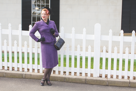 1950's vintage city style inspiration | Lavender & Twill