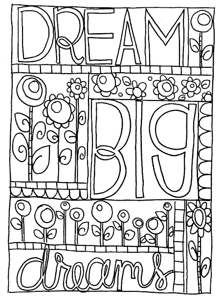 Unique Sharpie Doodle Art Coloring Pages Free