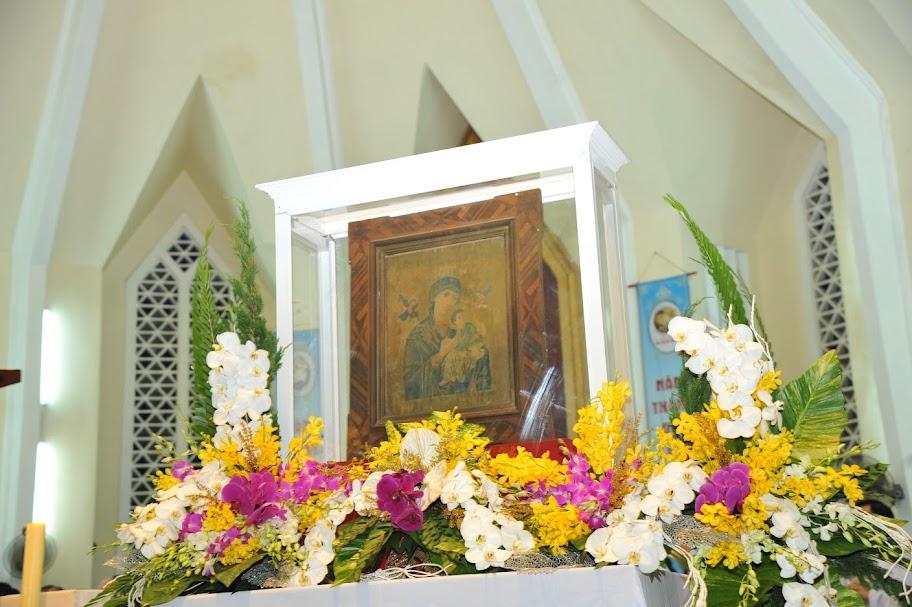 Đền Đức Mẹ Hằng Cứu Giúp Kỳ Đồng khai mạc tam nhật hành hương