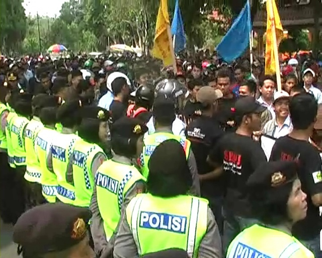 Tolak RPP Pengupahan, Buruh Jombang Gelar Demo