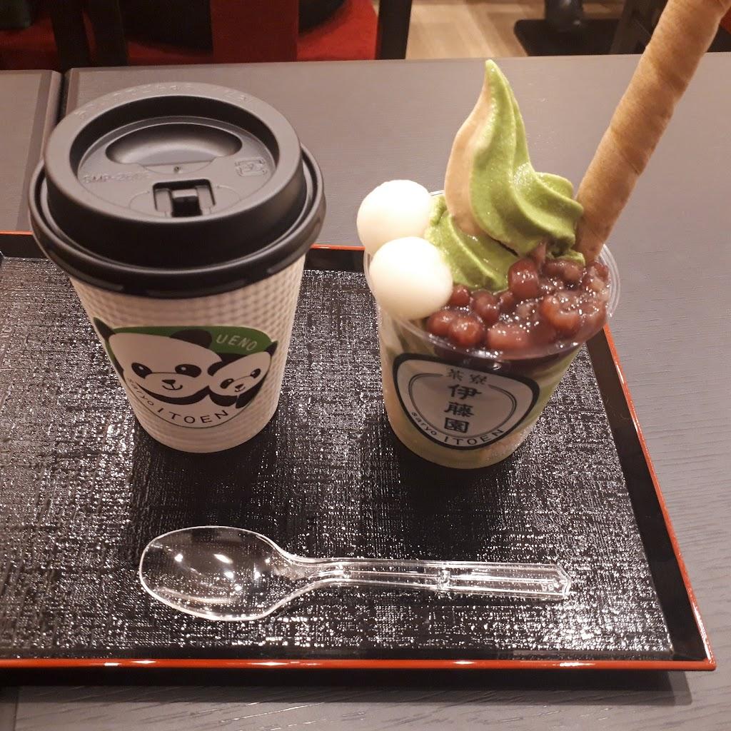 お~いお茶」の伊藤園が経営する和カフェ 茶寮伊藤園:東京上野松坂屋