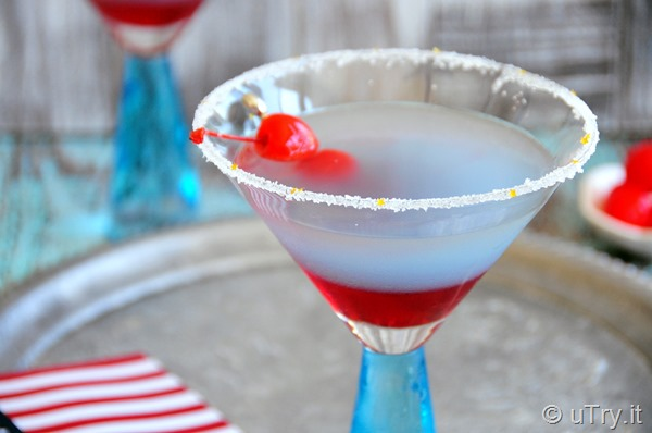 Fourth of July Cocktail–Happy Independence Day!   http://uTry.it