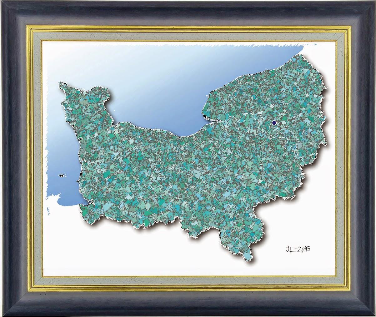 Peintres Ecole De Rouen portrait cartographique de la normandie impressionniste
