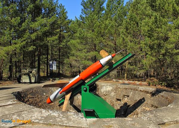 stanowisko wyrzutni rakiet w Rąbce