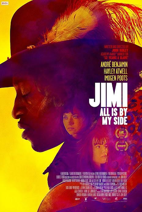 Χέντριξ: Η τύχη είναι με τους βιρτουόζους (Jimi: All Is By My Side) Poster