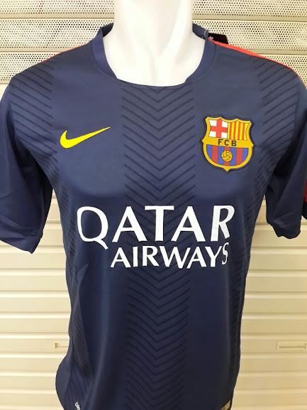 Jual Jersey Training Barcelona Hitam 2014-2015
