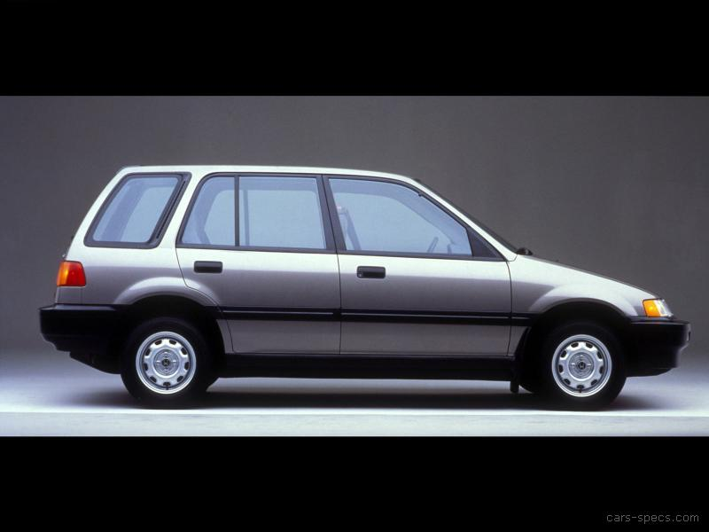 1990 Honda Civic Wagon Specifications Pictures Prices