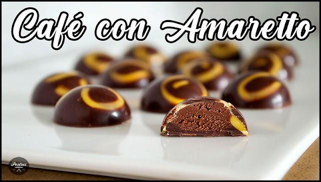 ☕ Bombones de Café, Chocolate y Amaretto