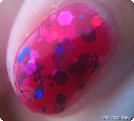 Maybelline Color Show Jelly Tints in Fuchsianista Jelly Sandwich Nail Art with Essence Party Never Ends nail varnish