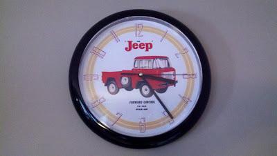 Jeep FC clock