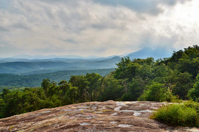 View from Bald Rock