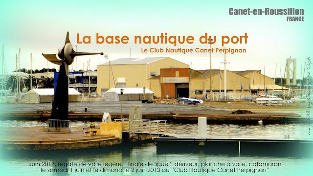 Optimist régate compétition voile enfant Canet-en-Roussillon