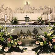 Modlitwy za zmarłych na cmentarzu