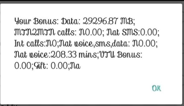 [Latest Cheat] How to activate MTN 29GB data for 1month