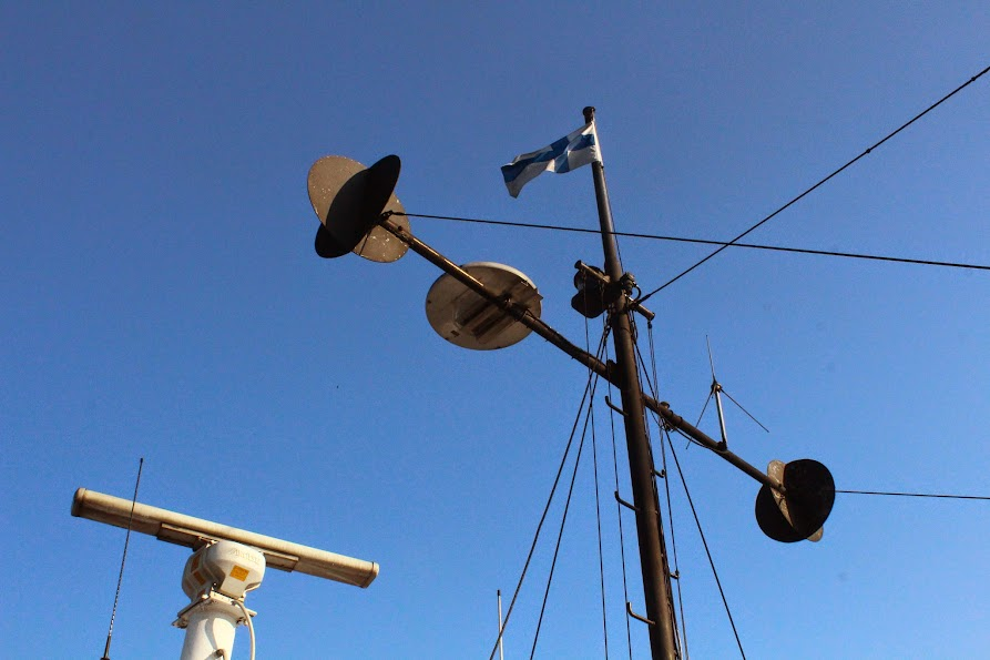 Ferry suomenlinna finnish flag
