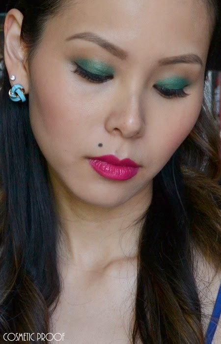 NYC Beauty Pro Makeup Look Andy Warhol Pop Art Bold Lip (3)