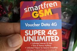Cara Memasukkan Voucher Smartfren Unlimited