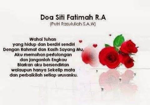 Doa Puteri Rasulullah S.A.W