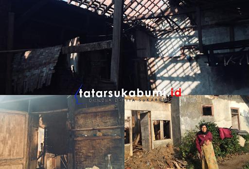 Miris Kondisi Rutilahu Mak Eem dan Ustadz Uloh di Sukabumi
