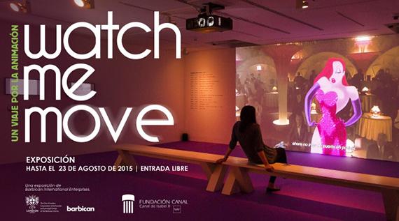 Exposición 'Watch me move. Un viaje por la animación' en la Fundación Canal