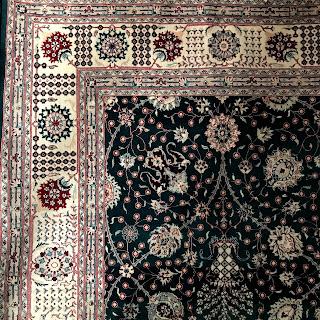 Pakistani Wool Floral Carpet
