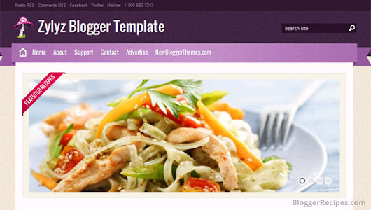Blogger recipes google 10 best food recipe blogger templates free forumfinder Gallery