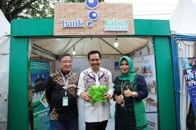 Support HPN 2020, Bank Kalsel Buka Stand di Expo Media Pers
