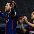 Messi:I think  I'm a less selfish player than other top players