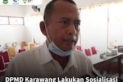 DPMD Mulia Lakukan Sosialisasi Pilkades Karawang 2021