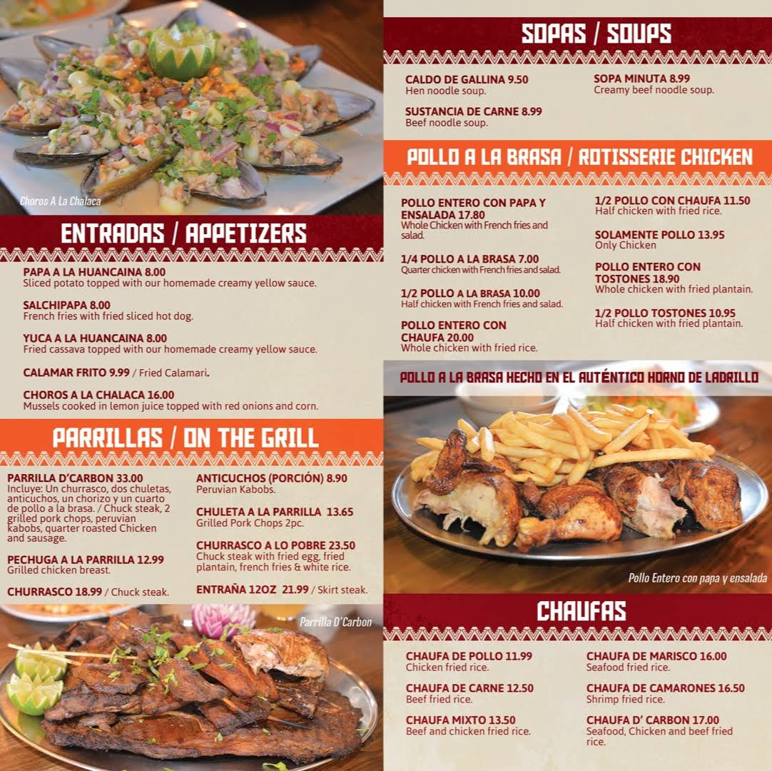 Peruvian Restaurant River St Paterson Nj
