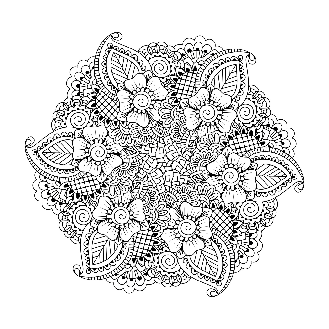 Best Free Adult Mandala Coloring Pages Printable Images