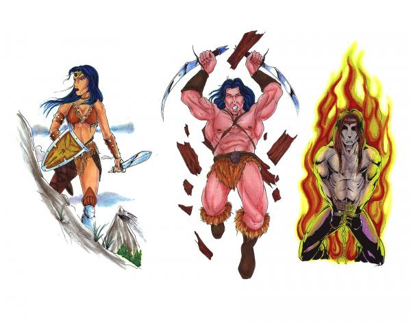 Mystical Tattoo Design, Fantasy Tattoo Designs